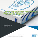 Continuing Education Requirements for the Professional Engineer