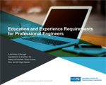 Education and Experience Requirements for Professional Engineers