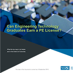 Can Engineering Technology Graduates Earn a PE License?