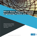 Which States Regulate Structural Engineering Practice and Titles?