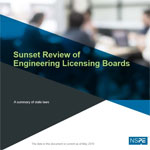 Sunset Review of Engineering Licensing Boards