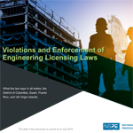 Violations and Enforcement of Engineering Licensing Laws